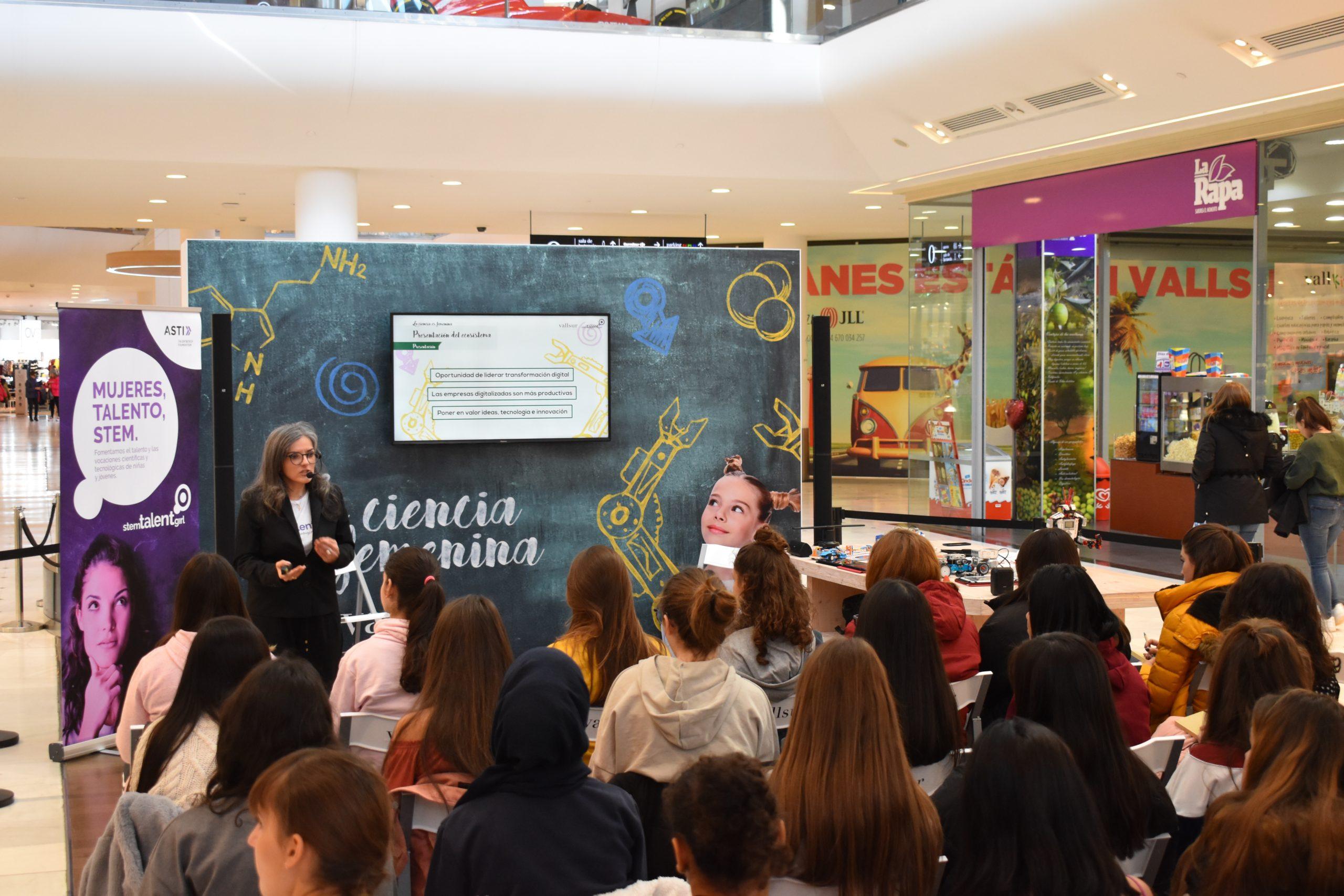 El futuro de la mujer en materias STEM